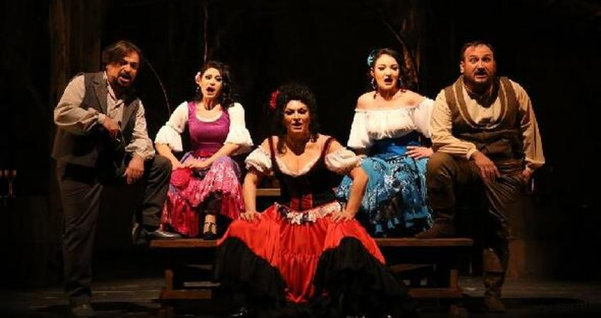 """Aşk ve Tutkunun Dansı """"Carmen"""" Cemal Reşit Rey'de Seyirciyle Buluştu!"""