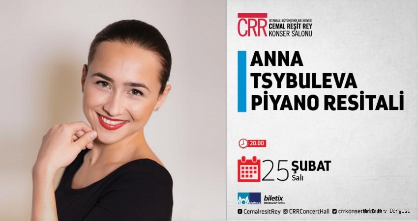 Ödüllü Piyanist Anna Tsybuleya CRR'de Piyano Resitali Verecek