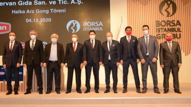 Borsa İstanbul'da Gong Bu Kez Kervan Gıda için Çaldı