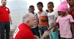 Kızılay Dünya Yetimler Gününde Çocukların Yüzünde Bir Tebessüm Bıraktı