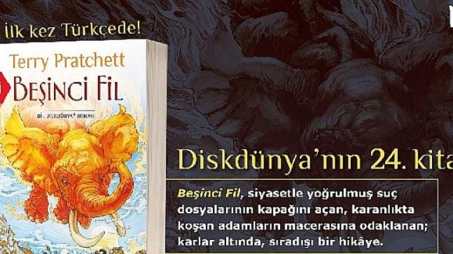 Diskdünya'nın 24. kitabı ilk kez Türkçe'de…