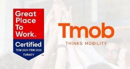 Tmob, Great Place to Work – Türkiye'nin En İyi İşverenleri Sertifikası almaya hak kazandı.