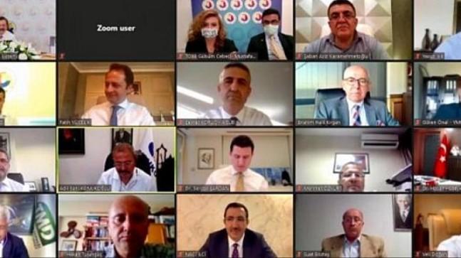 TOBB Türkiye Madencilik Meclisi ile Çimento ve Çimento Ürünleri Meclisi Ortak Toplantısı yapıldı