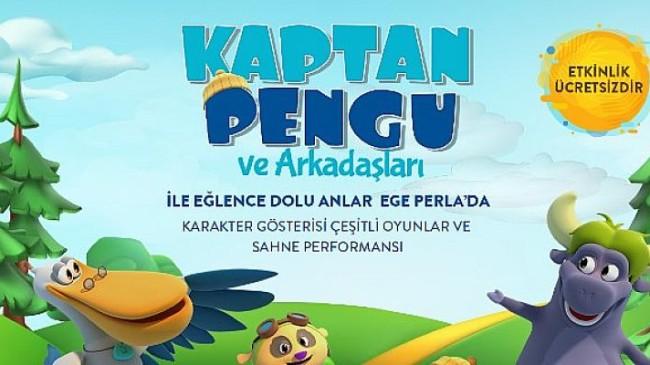 Ege Perla Kaptan Pengu ve Arkadaşlarını Çocuklarla Buluşturuyor!