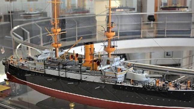 Nusret Mayın Gemisinden Queen Elizabeth'e Çanakkale Deniz Savaşı, Kıbrıs Modern Sanat Müzesinde!