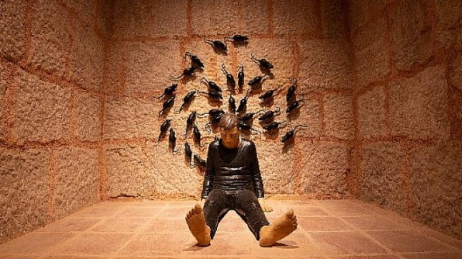 """Çağdaş sanatın yeni adresi Bursa Zindankapı'da 'Zamansızlık Şarkısı"""" sergisi açıldı"""